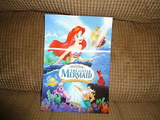 Disney Movie Club 3D Lenticular The Little Mermaid Collector'S Card