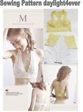 Women Soft Cup Bras Panties XS-XL Simplicity Sewing Pattern 8228 New 32A-42DD #z