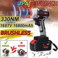 168Tv 16800mAh 330NM eléctrico inalámbrico llave de impacto pistola de fuego con