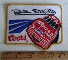 "Vintage Bill Elliott Patch #9 Coors Beer Melling Ford Racing Nascar 4"" x 3"""