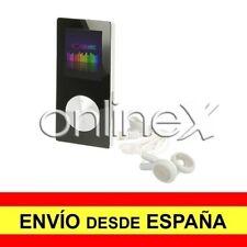 Reproductor MP4 Video Radio FM de 8GB Media Player Negro-Plata Grabadora a3224