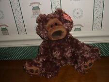"GUND 10"" PLUSH CHOCOLATE BROWN BEAR-PHILBIN-NEW"