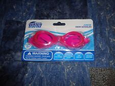 Open Water Swim Junior Goggles Pink New In Sealed Retail Package Free Shipping