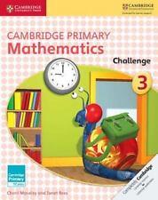 Cambridge Primary Maths: Cambridge Primary Mathematics Challenge 3 by Cherri...