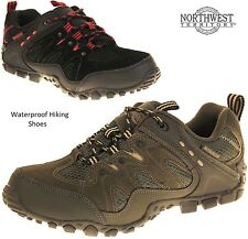 Northwest Mens Waterproof Leather Hiking Walking Trail BootsTrainer Shoes Size