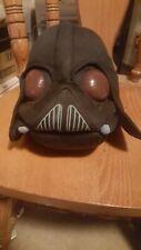 Plush Angry Birds Star Wars Darth Vader helmet