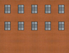 Background Building Kit for HOn3 On30 Scale Narrow Gauge Model Train Layout