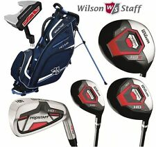 Wilson Profile XLS 1-Inch All Graphite Mens Complete Golf Club Set & Stand Bag