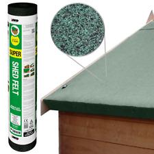 IKO Super Shed Felt | Green 8m x 1m | Garden Roofing Felt Bitumen Roof Sheet
