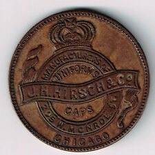 1922 J H HIRSCH & CO CHICAGO MANUFACTURERS OF UNIFORMS TORONTO CONVENTION MEDAL