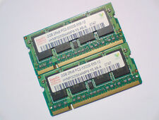 4GB 2x2GB DDR2-667 PC2-5300 SODIMM HYNIX 667Mhz LAPTOP Notebook RAM SPEICHER