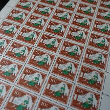 feuille sheet Bogen Deutschland berlin Nr.242 x50 1965 neuf luxe mnh