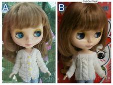 outfit cardigan Blythe, Pullip, Momoko, bjd, fashion royalty, barbie vari colori