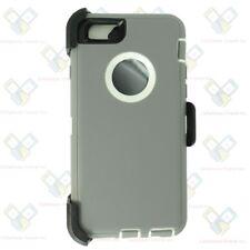 For Apple iPhone 4/5/6/6S Plus/7/8/X Plus Defender Case(Belt Clip fits Otterbox)