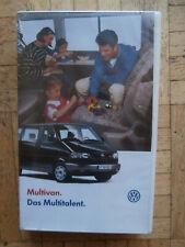 VW T4 Multivan +Allstar +Classic 11/1996 VHS Cassette NEU