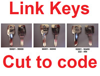 Replacement Link Keys Cut to Code - Filing Cabinets, Lockers, & Desks - FREE P&P