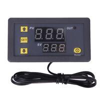 12V LED Digital Temperatur Thermostat Temperaturschalter rote und blaue Anzeige