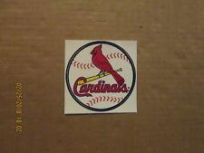 Mlb St.Louis Cardinals Vintage Circa 2000's Team Logo Baseball Sticker