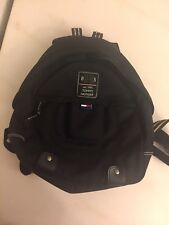 Rare Vintage Tommy Hilfiger 1985 Black Backpack Purse Shoulder Bag Fashion