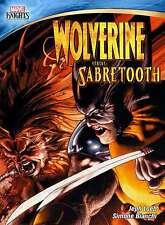 New: MARVEL KNIGHTS - Wolverine Vs. Sabretooth DVD