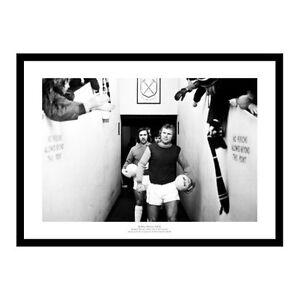 Bobby Moore Last Game for West Ham United 1974 Photo Memorabilia (354)