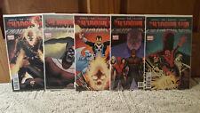 Shadowland #1-5 (2010, Marvel) set