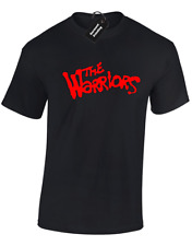 THE WARRIORS MENS T SHIRT COOL RETRO FILM CULT MOVIE DESIGN GANG 70'S 80'S TOP