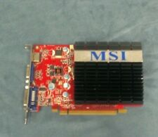 MSI N9400GT-MD512H NVIDIA GeForce 9400 GT 512MB GDDR2 PCIe Video Graphics Card