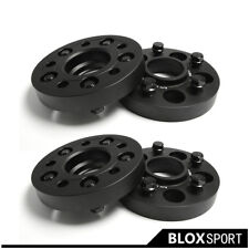 2Pairs 25mm for Jeep Compass 5x110 CB65.1 Forged 6061T6 AL Wheel Spacers Adapter