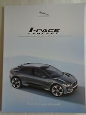 Jaguar I Pace Concept brochure 2017
