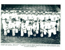 1941 EVANSVILLE BEES TEAM 8x10 PHOTO WARREN SPAHN HOF BASEBALL