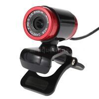 USB 2.0 50 Megapixel HD Camera Web Cam with MIC Clip-on fr PC Laptop Skype PC