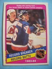 1984-85 O-Pee-Chee # 392 Pat LaFontaine Vintage Rookie Card!  N/MT or Better!