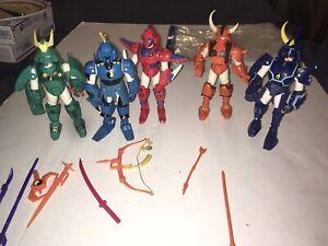 Ronin Warriors Action Figures