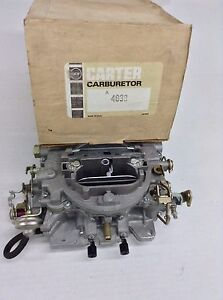 NOS CARTER AVS CARBURETOR 4638S 1968-1969 CHRYSLE-DODGE-PLYMOUTH 383 ENGINE