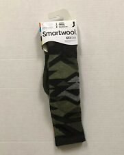 Smartwool Men's Socks PhD Ski Light Charcoal & Sage Large SW001090 US Seller NWT