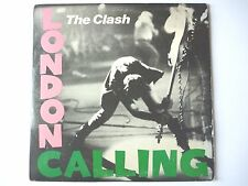 THE CLASH - LONDON CALLING - 1979 ORIGINAL DOUBLE LP VINYL RECORD EPIC E2 36328