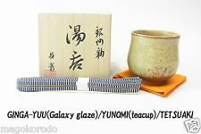 o5650,Japanese,TETSUAKI NAKAO, January Galaxy glaze teacup / class A work.