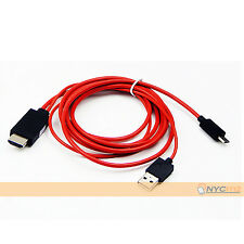Micro USB MHL To HDMI HDTV Adapter Plug Cable For Samsung Galaxy Tab 3 10.1