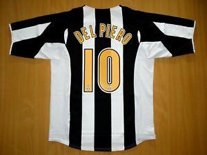 sale DEL PIERO Juventus L LARGE 2004 2005 shirt jersey camiseta soccer calcio 04