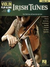 Irish Tunes Violin Play-Along Book and Online Audio Access NEW 000842565