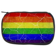 Distressed Gay Pride Flag Travel Bag