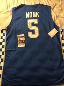 Malik Monk Kentucky Wildcats Charlotte Hornets Signed Autographed Jersey Jsa Cer