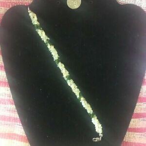 """Ethiopian Welo Opal, Russian Diopside Bracelet in Sterling Silver (7.25"""")"""