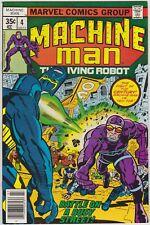 Machine Man #4  Marvel 1978 Jack Kirby Bronze Age