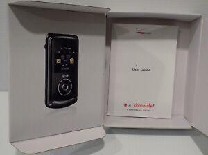 LG Chocolate 3 Verizon Wireless LG-VX8560 Empty Box And User Guide