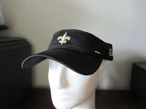New Orleans Saints New Era Visor Adjustable fit nwt Free Ship