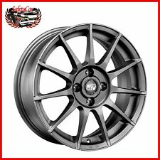 "Cerchio in lega OZ MSW 85 Matt Gun Metal 16"" Ford FIESTA"