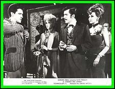 """ELVIS PRESLEY, DONNA DOUGLAS & NANCY KOVACK in """"Frankie and Johnny"""" Origin. 1966"""