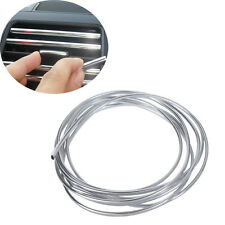 4m X8mm U Shape Air Vent CAR Grille Switch Rim Grille Chrome Trim Strip Moulding